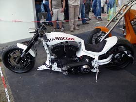 Hamburger Harley Days mit coolen Maschinen!