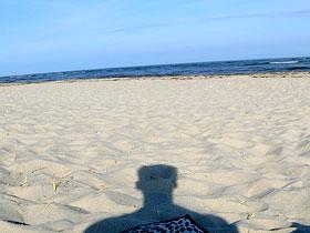 Am Strand der Ostsee